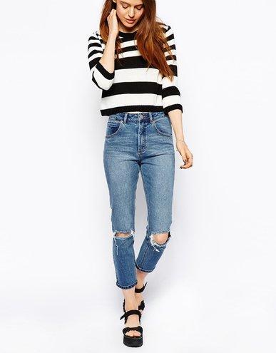 Тренди 2015  з чим носити mom-джинси » Panno4ka - женский онлайн-журнал addd4f2cb9b0f