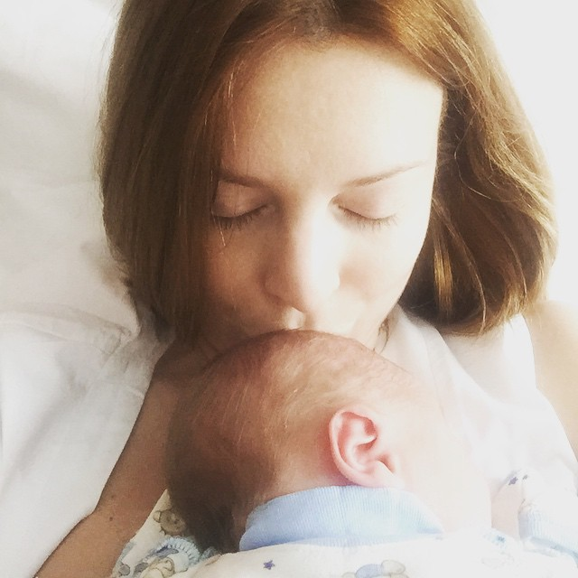 Наталья Подольская показала первое фото сына