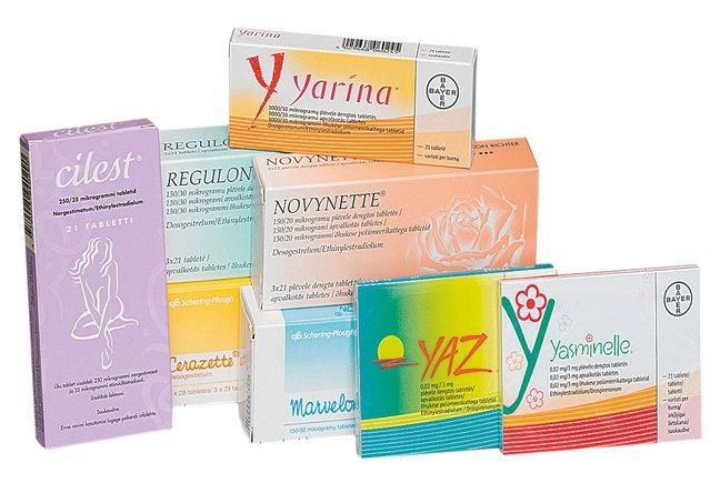 Пероральные гормональные контрацептивы