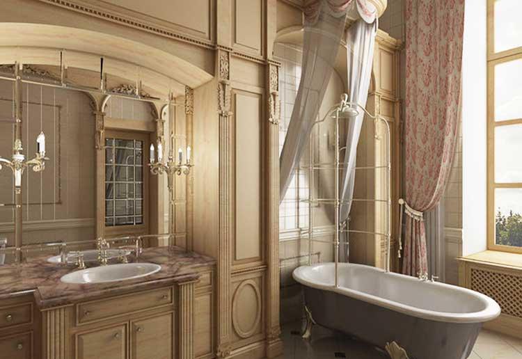 Комната в классическом стиле фото