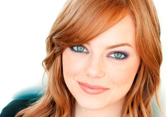 Какой макияж для голубых глаз и рыжих волос