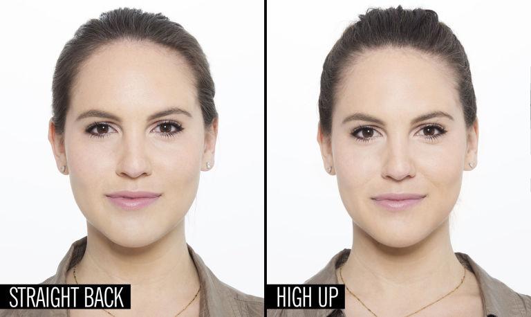 Как сделать лицо худее при помощи прически