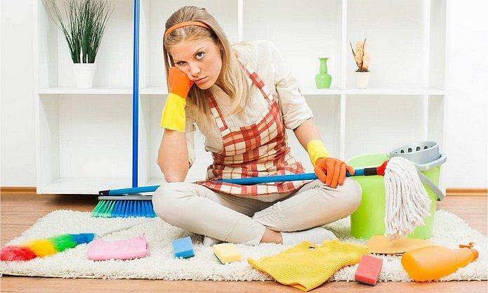 Онлайн секс уборка квартиры