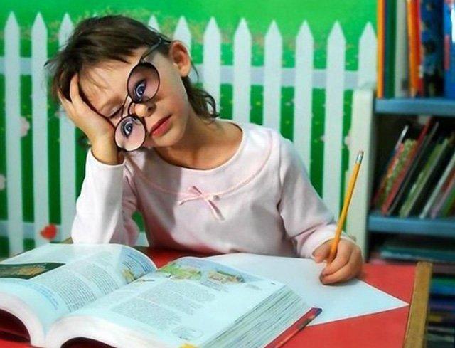 Не могу делать уроки днем